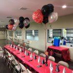 ATB Birthday Table Set Up